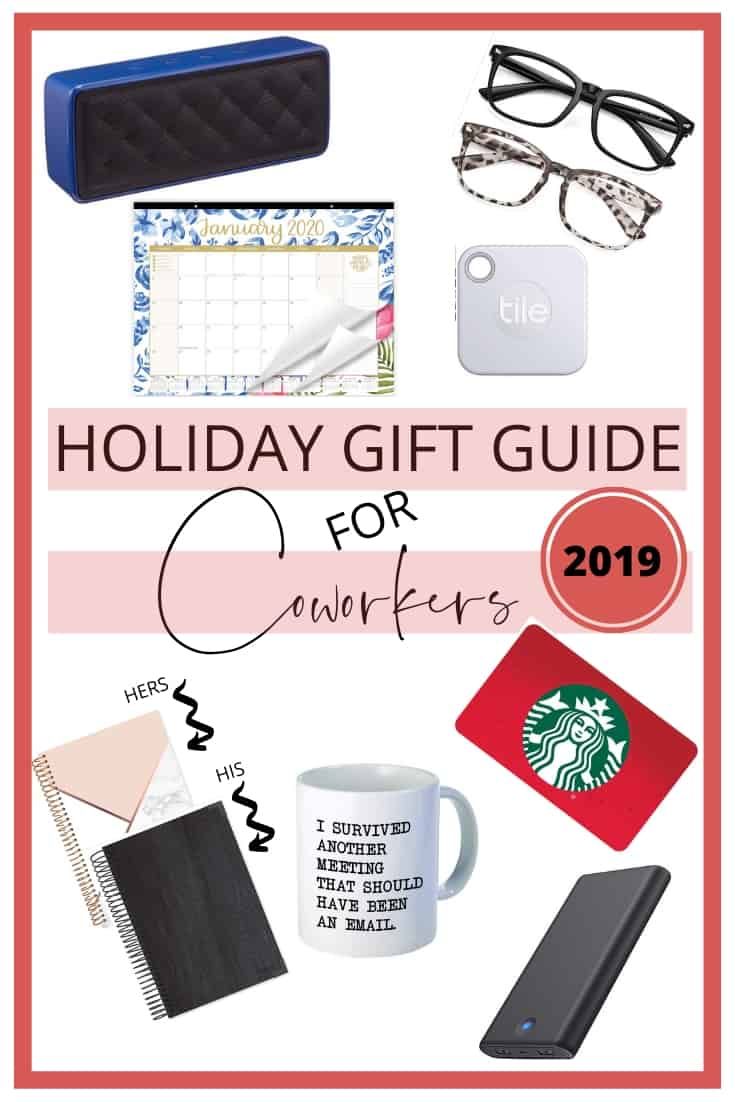 Holiday gift guide for coworkers 2019