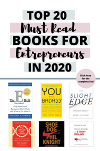 Top 20 Must Read Books for Entrepreneurs in 2020